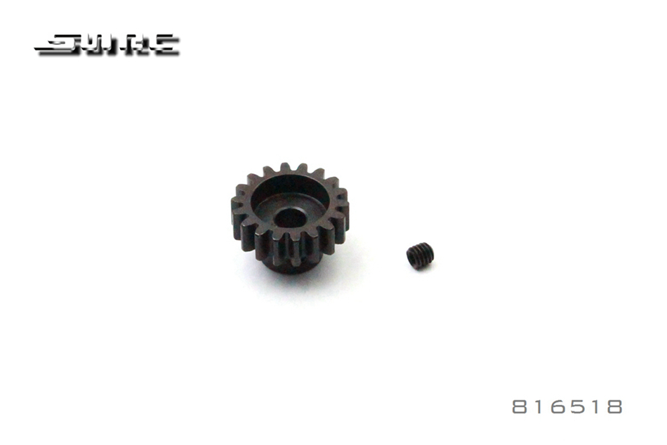 SNRC 1/8 RCAccessories 816518 MOTOR GEAR 18T