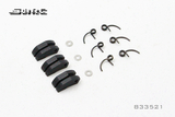SNRC 1/8 RCAccessories 833521 CLUTCH SHOES+SPRINGS